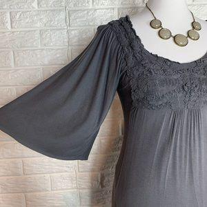 Bailey 44 boho dress oversize sleeve size xs
